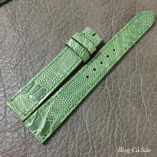 dây đồng hồ nữ da đà điểu d2