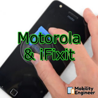Motorola and iFixit - On site repair!