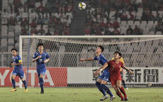Timnas Indonesia U-19 Menang 3-1 Atas Taiwan di Piala Asia