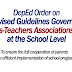 Governing Parents-Teachers Associations (PTAs) at the School Level