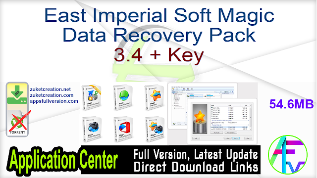 East Imperial Soft Magic Data Recovery Pack 3.4 + Key