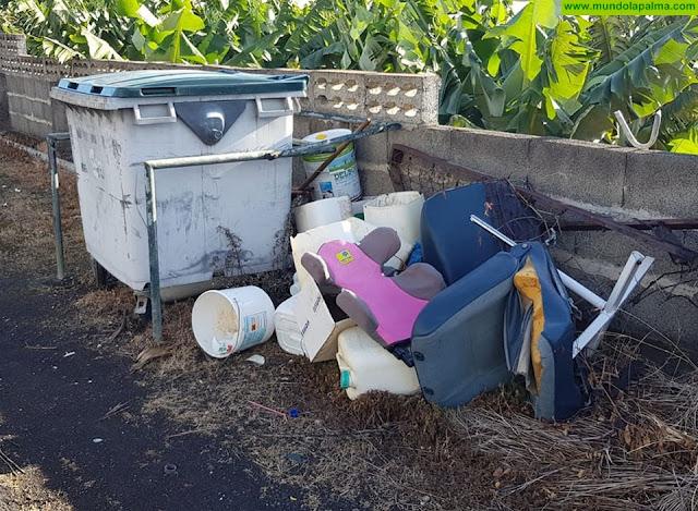 CC en Puntallana solicitaal Ayuntamiento que cumpla sus obligaciones de limpieza pública y no presione con sanciones a los vecinos