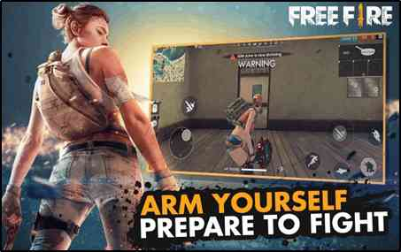 pubg की तरह गेम : Garena Free Fire
