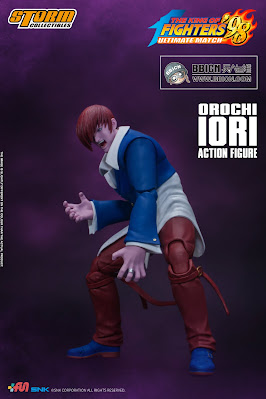 The King of Fighter '98: Ultimate Match - Orochi Iori 1/12 Scale Figure