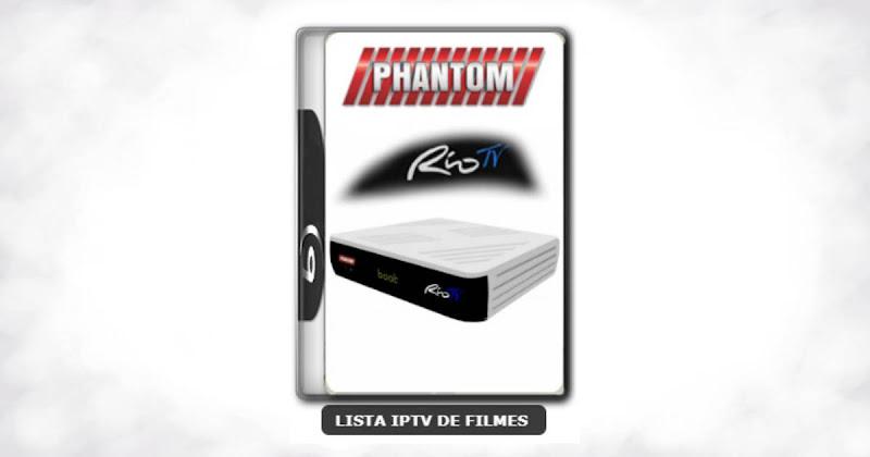 Phantom Rio TV Nova Atualização Satélite SKS Keys 61w ON V1.026