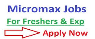 10th, 12th, ITI, Diploma,B.tech Jobs Vacancy in Micromax India Pvt Ltd.  Tapukara, Bhiwadi, Rajasthan