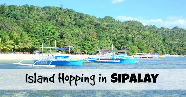 Island Hopping in Sipalay