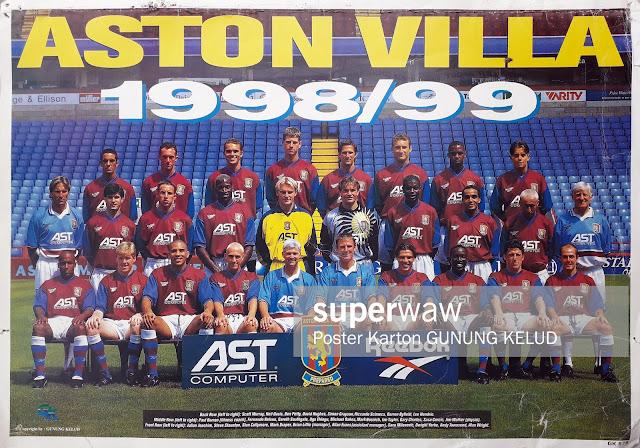TEAM ASTON VILLA 1998