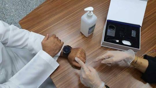 Wristband for Covid-19 in Abu Dhabi
