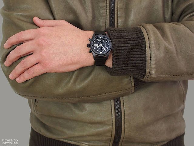 "IWC Pilot's Watch Chronograph Edition ""Tribute to 3705"" IW387905"