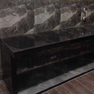 Membuat Granit Meja Dapur Terlihat Lebih Tebal