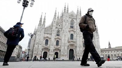 ايطاليا تقوم بتخفيف الحظر علي المواطنين