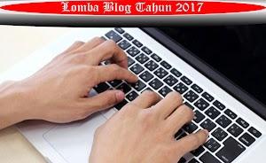 Lomba Blog Bulan Mei 2017