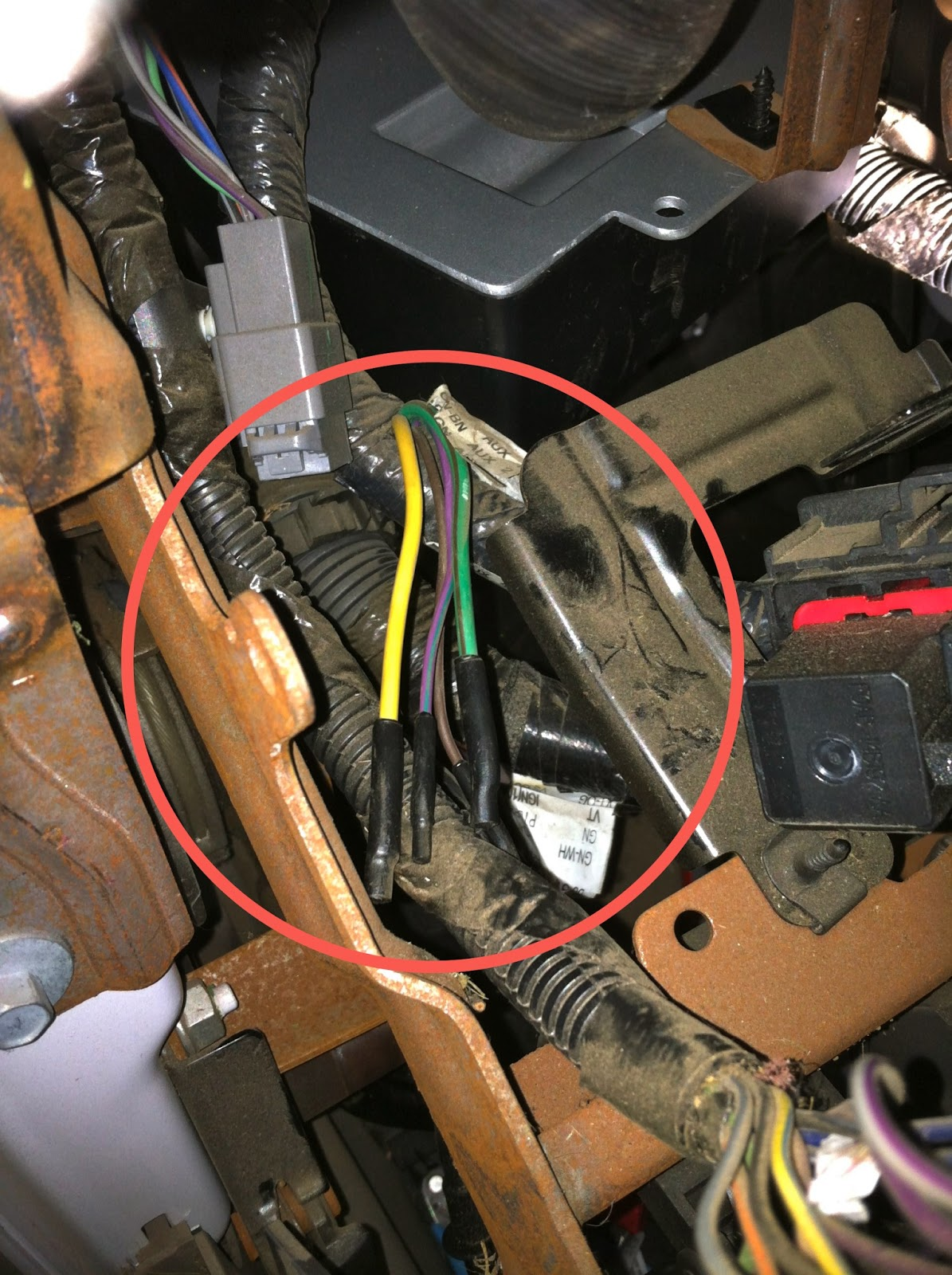 Ford FSeries Super Duty Trucks  Wiring Factory Auxiliary