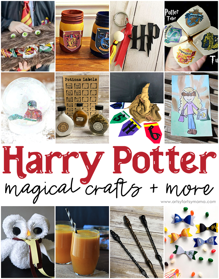 Magical Harry Potter Crafts