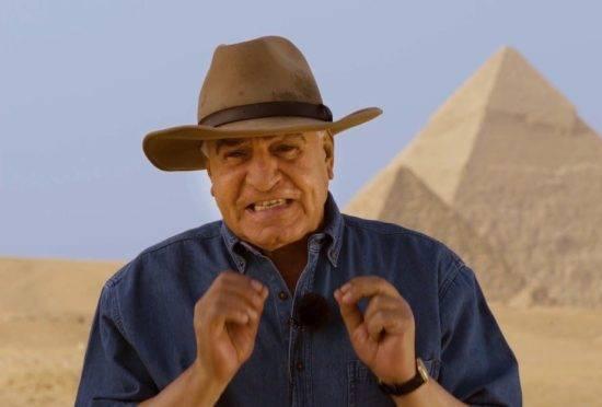 Egiptologo Zahi Hawass