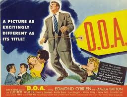 Edmond O'Brien D.O.A. 1950 movieloversreviews.filminspector.com film poster