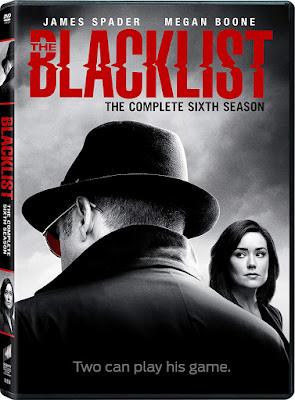 Blacklist Season 6 Dvd