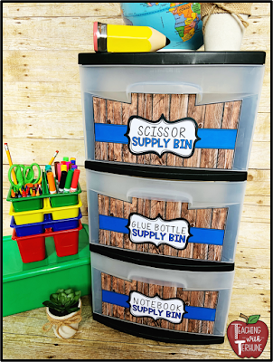 Farmhouse Storage Bin Labels