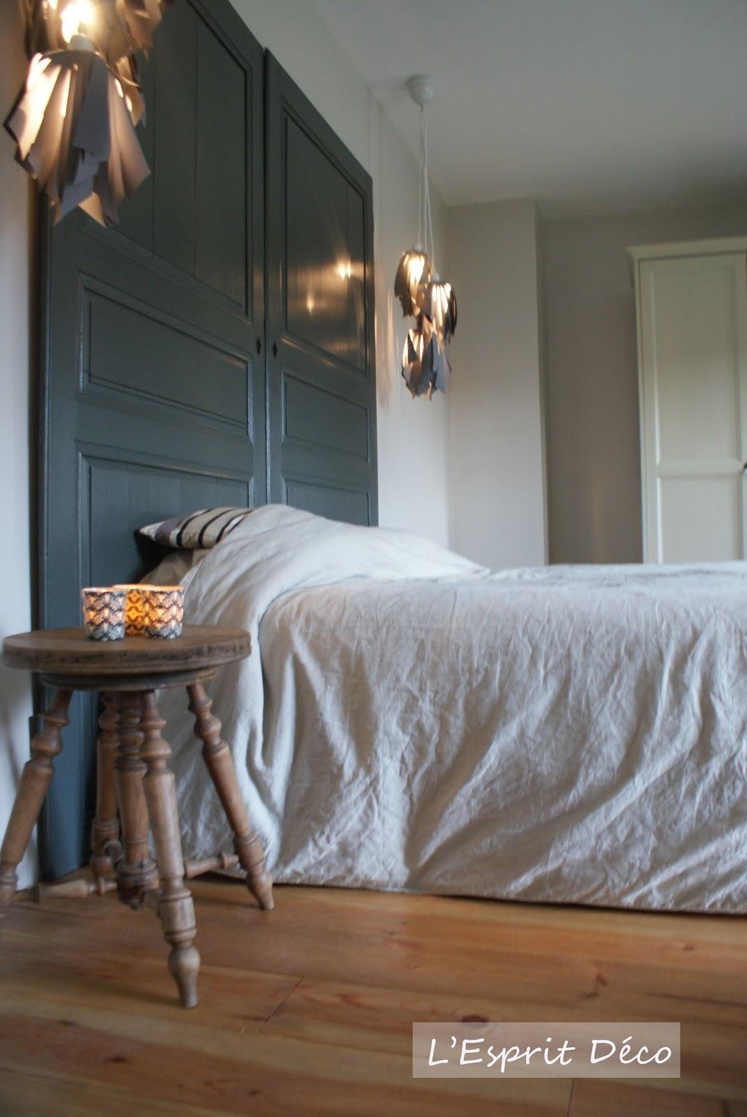 cathy macquet l 39 esprit d co nouvelle r alisation t te de lit recup 39 suite. Black Bedroom Furniture Sets. Home Design Ideas