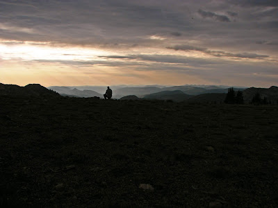Supper with a View, Dick's Pass, Pacific Crest Trail, CA 2014 (J.D. Grubb Photography)