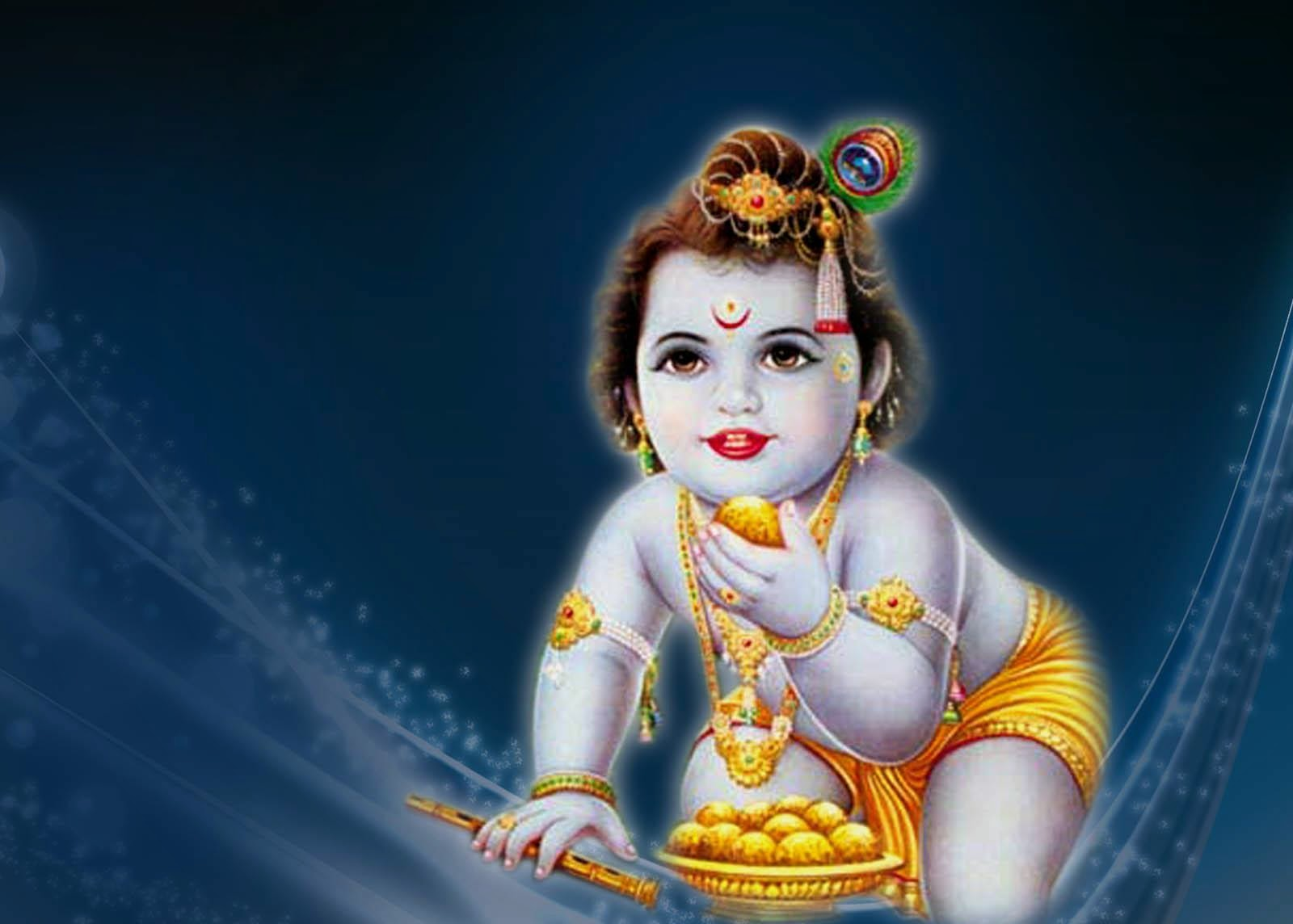 Bal Krishna HD Wallpapers of Hindu God