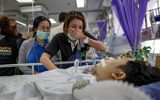 Angka korban tembakan rambang di Thai naik kepada 30 orang