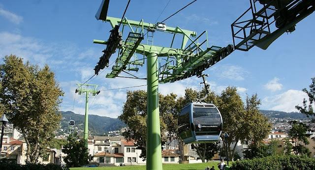 Estação do Teleférico de Funchal