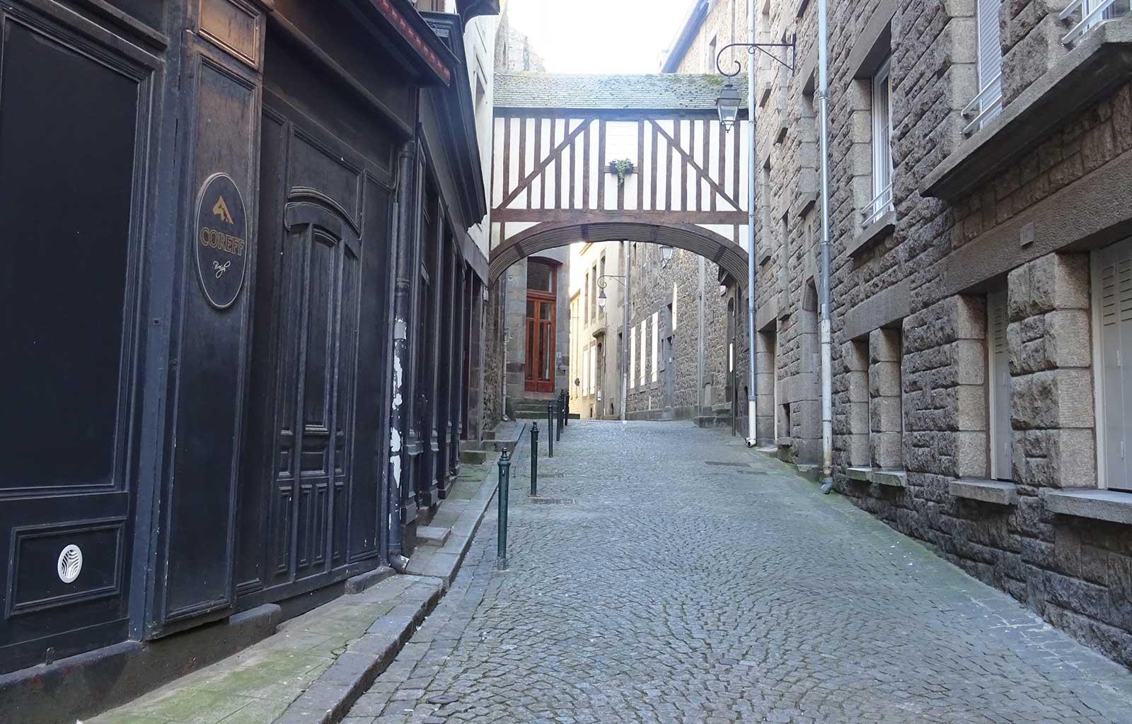 Visite saint malo petite rue