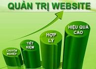quản trị website giá rẻ