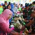 Ungkapan Rasa Syukur, 50 Tumpeng Disajikan Warga Desa Cimrutu