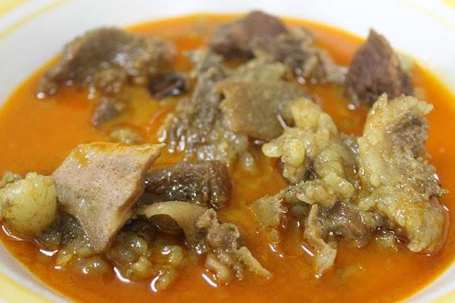 Masakan Nusantara Dengan Pelengkap Daging Yang Banyak Digemari