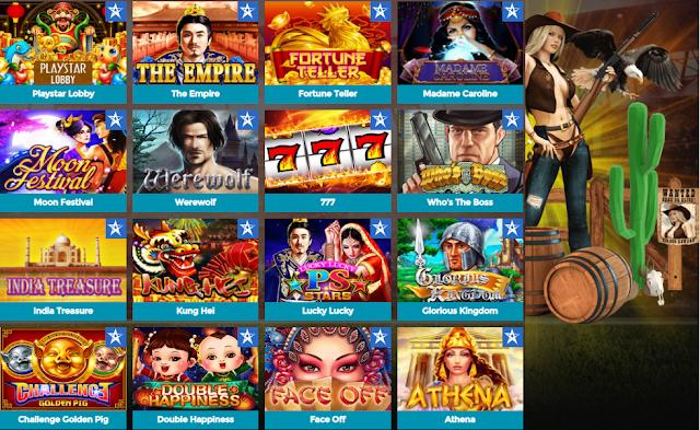 Bintang88 menyediakan permainan slot online Playstar terhebat sepanjang tahun dengan fitur game yang mewah. Menerima daftar akun slot online menggunakan OVO E-MONEY serta melayani permintaan deposit pulsa telkomsel-XL tanpa potongan apa pun. Fitur terpicu & promo yang sangat banyak membuka peluang jackpot yang sangat besar.