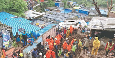 Dozens Dead in Mumbai After 'Monstrous' Monsoon Rains Cause Landslide