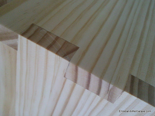 Cómo cortar uniones de lazos rectos o dientes rectos. http://www.enredandonogaraxe.com