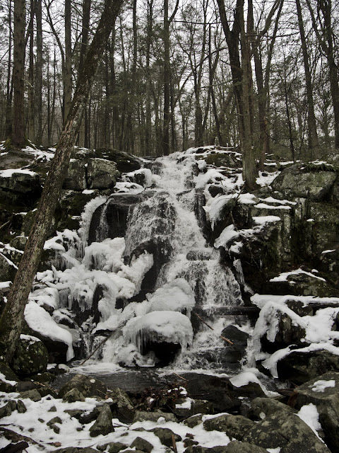 Pryden Falls, The Zoar Trail, Sandy Hook - Newtown CT