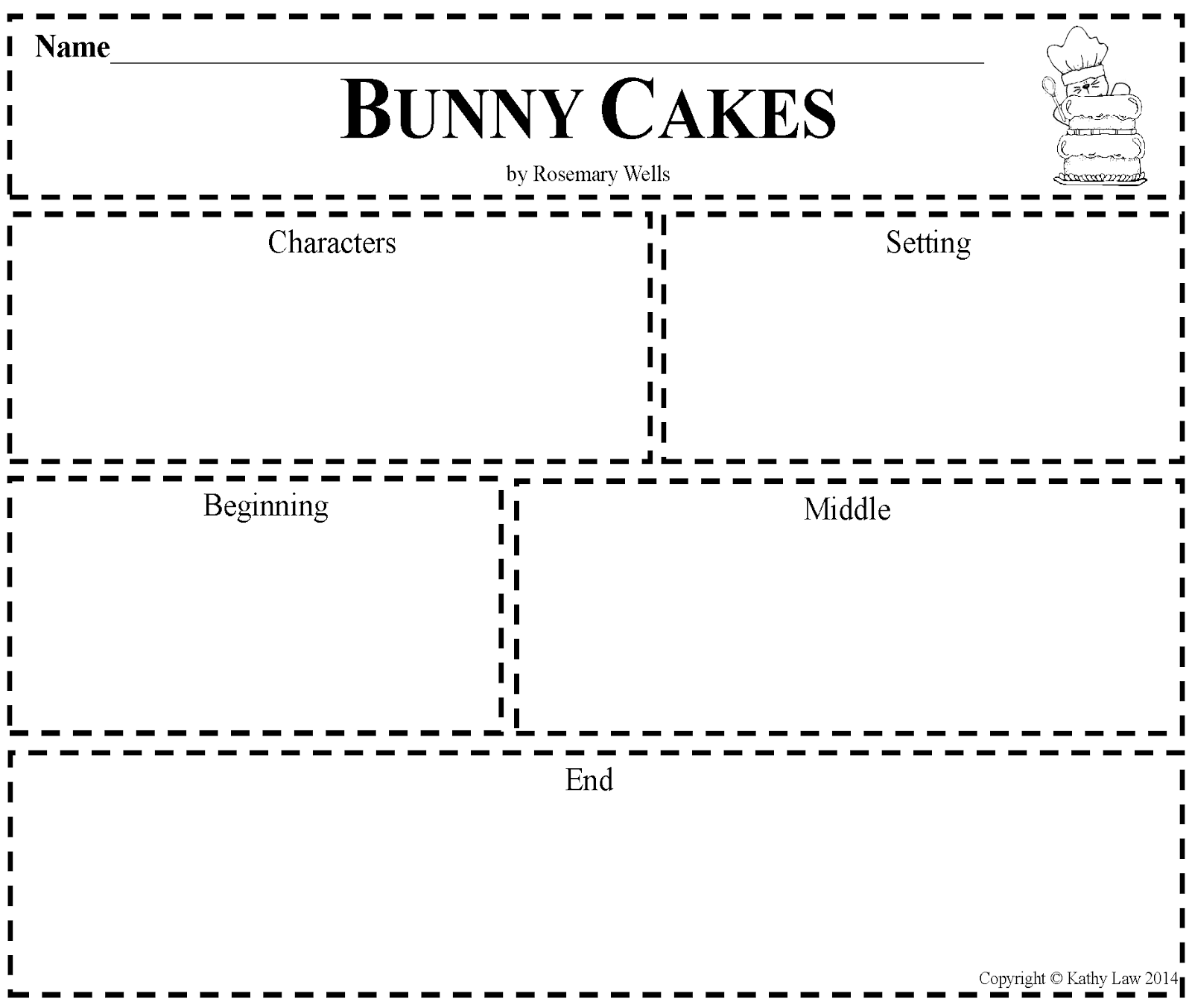 First Grade A La Carte Bunny Cakes