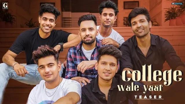 College Wale Yaar Lyrics - Harf Cheema