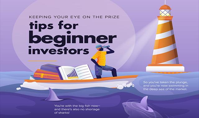 Tips for Beginner Investors #infographic