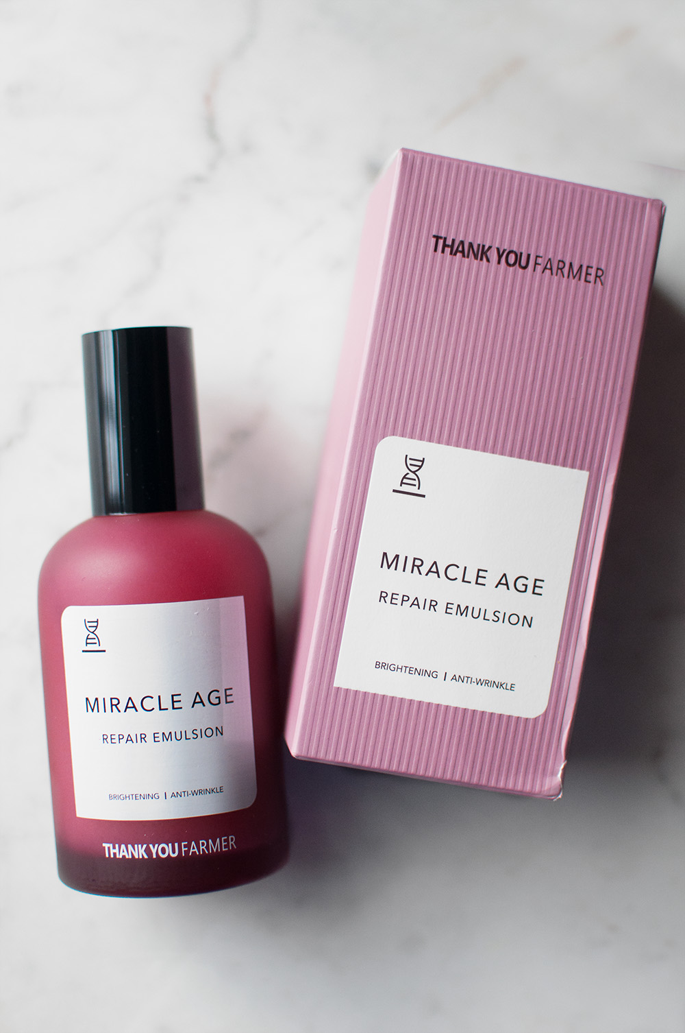 thank you farmer, thank you farmer miracle age repair emulsion, thank you farmer skincare, korean skincare