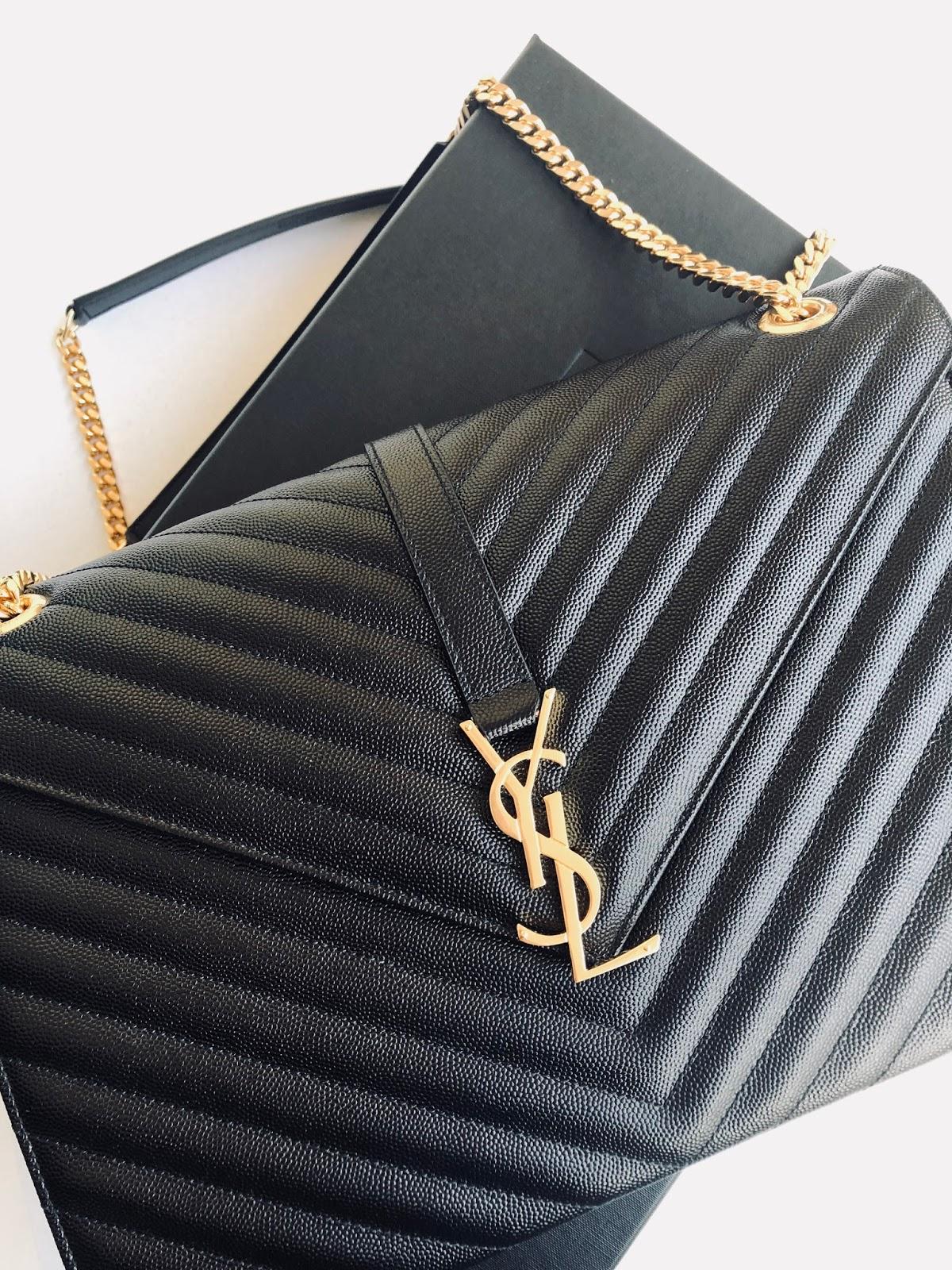 www.ourdubailife.com - Unboxing Day : What I Got For XMAS 2017 YSL Matelasse handbag