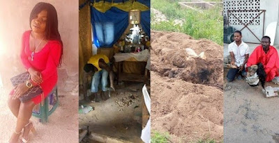 Pastor kills s@x worker for rituals, buries her parts in his altar