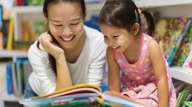 Mendidik Anak Berteman Dengan Buku
