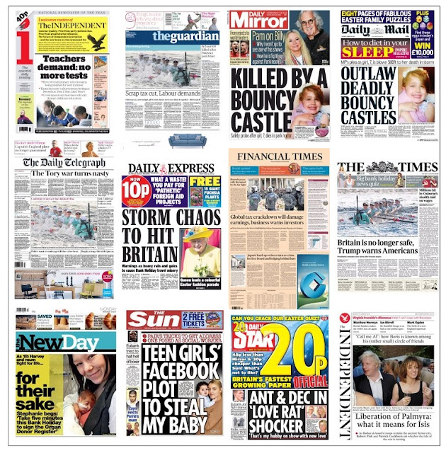 front pages 28-03-16