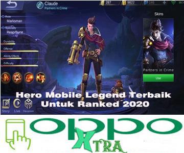 Hero Mobile Legend Terbaik Untuk Ranked 2020
