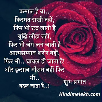 Best Good Morning Quotes in Hindi, Good Morning