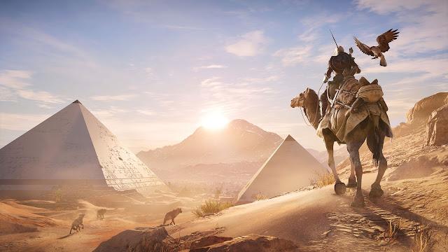 شاهد بالفيديو العرض السينمائي الرهيب للعبة Assassin's Creed Origins