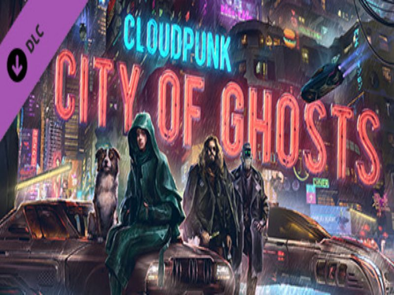 Download Cloudpunk City of Ghosts Game PC Free