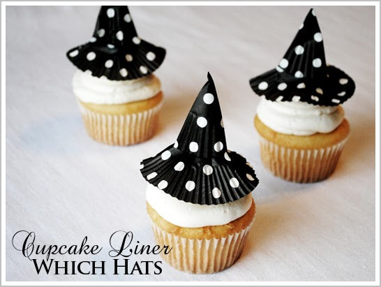 Sweets & Treats Boutique: Craft Corner: Witch Hat Cupcake ...
