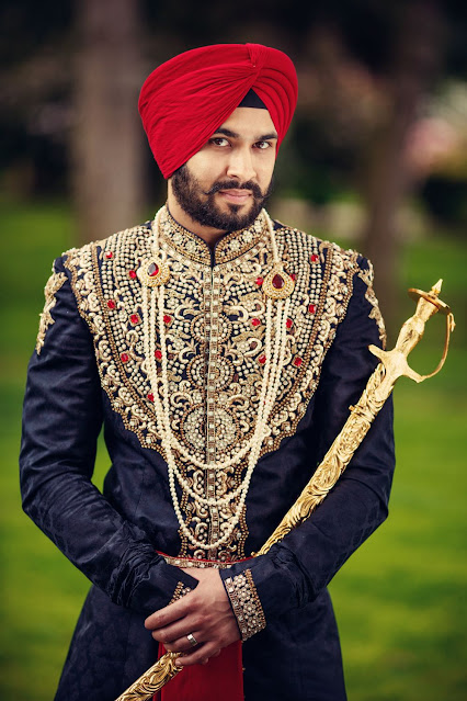 Wedding Groom Dress Punjabi  2020